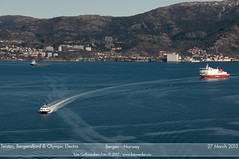 Teisten, Bergensfjord & Olympic Electra (Aviation & Maritime) Tags: norway ferry offshore bergen hsc supply psv fjordline fastferry carferry passengerferry dsd passengerboat bergensfjord platformsupplyvessel olympicshipping teisten highspeedcraft norled olympicelectra olympicoffshore byfjorden2013