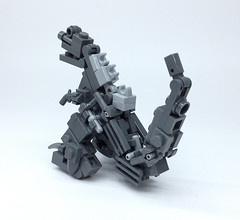LEGO GODZILLA_08 (ToyForce LEGO Mecha) Tags: lego robot robots mecha mech mechanic legomech legomoc godzilla