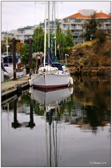 K is the Place (CanMan90) Tags: ocean house sailboat docks canon reflections harbour britishcolumbia nanaimo vancouverisland condos cans2s rebelt3i