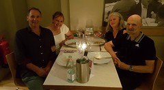 Catching up with Hazel and Gary in London (Allan Henderson) Tags: carluccios allan robyn hazel gary dinner restaruant meeting friends