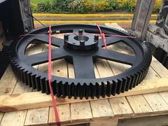Engranaje de 108 dientes, Módulo 8 con sistema de fijación QD-M #calidad #piñon #engranaje / INTERMEC Module 8 Spur Gear #highquality  #machinist #Gears #intermec (Intermec S.A.) Tags: calidad piñon engranaje highquality machinist gears intermec