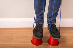208/366 - Help (roblee.photography) Tags: jeans shoes skirtingboard stilts project365 project365208 project36526jul16 2016 july canoneos6d ef40mmf28stm pictureaday photoaday oneaday