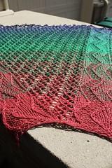 Cheerfully Broken 11 (peridragon) Tags: knitting ravelry cheerfullybroken gradient