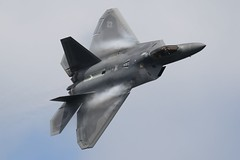 USAF F22 Raptor (supersev41) Tags: airshow airdisplay stealth fluff fairford riat raptor f22 usaf