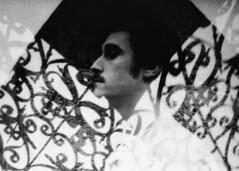 (mikehip) Tags: yonkers ny new york film black white kodak portrait self developed nikon 35mm photography double exposure man