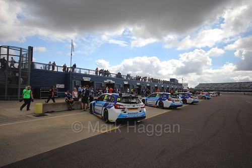 The Subarus at Rockingham, August 2016