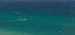 Alone (Howard Ferrier) Tags: palmbeach ocean pacificocean australia sportleisure kitesurfing seq panorama goldcoast queensland oceania photography