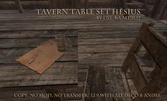 TavernTableSet_Hesius3 (nea.narstrom) Tags: medieval tavern inn pub brothel longhall