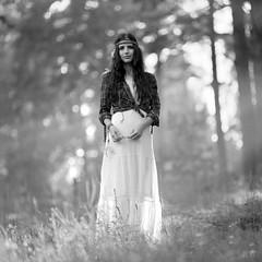 Tina (Anton_Kicker) Tags: 6x6 pentacon six medium format 120 film kodak sonnar portrait girl bokeh analog