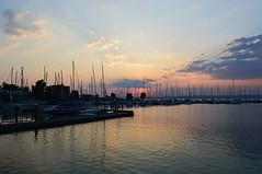 ships 2 (sunsetsra) Tags: balaton hungary lake nature water balatonboglar balatonboglr sunset sundown sky twilight waterscape