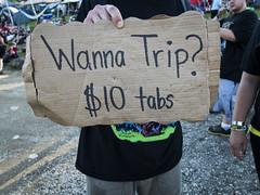 Trippy (Stoneybutter) Tags: acid areaman drugs juggalos lsd ohio usa signage