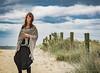 naomi160904-030 (Naomi Creek) Tags: selfportrait portraiture portrait selfdiscovery creativity explore personal project beach beads distantworld sand sea shawl net girl woman clouds crochet