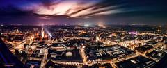 Leipzig Panorama Uniriese (falkjohnke) Tags: cityscape nightshoot longexposure langzeitbelichtung leipzig uniriese cloudporn