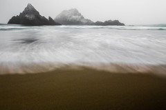 IMG_3942 (Aaron Sesker) Tags: canon 6d 1635 sf san francisco sanfrancisco ocean beach oceanbeach water rocks rock nd neutral density filter longexposure long exposure fog foggy mist misty spray