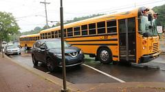 "The ""New"" NHSD T3s (Etienne Luu) Tags: abc transit inc blue bird corporation all american t3 fe north hills school district transportation bus 2016"