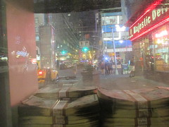 Narcos Bus Shelter Pile O Money AD 5223 (Brechtbug) Tags: narcos tv show bus stop shelter ad with piles slightly singed real fake money or is it 2016 nyc 09102016 midtown manhattan new york city 49th street 7th ave st avenue moola bogus
