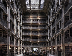 The Peabody Library (zuni48) Tags: architecture baltimore library peabody interior johnshopkins
