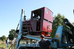 11 (Hampton & Kempton Waterworks Railway.) Tags: darent arrives loop