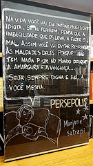 15/4/2016... (tiagoelidio) Tags: 366project 366 project366 book livro bookstore livraria livrariacultura perspolis marjanesatrapi
