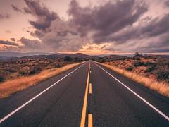 Iron-Springs-0251-HDR-Edit (Michael-Wilson) Tags: prescott arizona az ironsprings michaelwilson clouds weather sky sunset sunrise road leadinglines crossprocessing aerial djiphantom drone