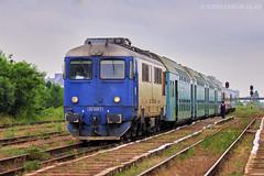 60-1400-5 of CFR Calatori (Vlady 29) Tags: 060da romania railway rail railroad power passenger electroputere electric engine diesel da train cfr craiova calatori cluj constantin vagon vlad zug 2011 alesd