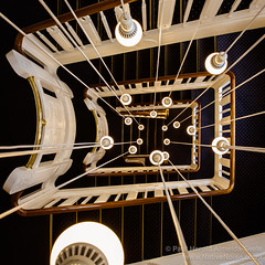 Stairwell in the Savoy Hotel, Vesterbro