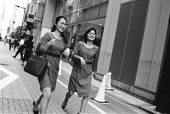 Ginza, Tokyo (fabiolug) Tags: women woman walking fashion smiles smile bag cones cone ginza people street streetphotography tokyo japan japanese asia leicamp leica mp rangefinder film filmphotography believeinfilm blackandwhite blackwhite bw kodaktrix400 trix400 kodak trix kodaktrix voigtlandernoktonclassic35mmf14 voigtlandernokton35mmf14 voigtlander35mmf14 35mm voigtlander