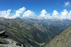 depuis la Fentre d'Arpette (bulbocode909) Tags: valais suisse fentredarpette montagnes nature paysages nuages vert bleu