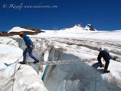 Trainning for Khumbu glacier