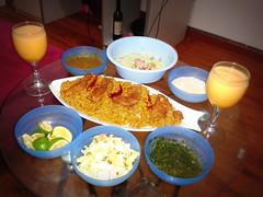 2012-11-03 02.11.55 (Dr.QTZ Sayyid) Tags: sweet honeydew pineapple smoothie raita tahini dinnerfortwo arabicfood romanticdinner kabsa tropicalsalad sweethoneydewsmoothie