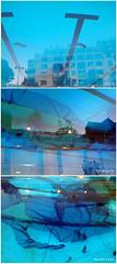 [Atlantis] Underwater World : City - Tourists - Mountains (L'imaGiraphe (en travaux)) Tags: world city blue mountain paris reflection water montagne landscape eau underwater dusk contemporaryart under surface tourist exhibition bleu atlantis swimmingpool exposition reflet fantasy installation photomontage underworld monde paysage crépuscule artcontemporain iledefrance dessous triptyque ville butteauxcailles piscine touriste sousmarin atlantide 2011 75013 imaginaire endessous