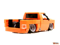 Slammed Truck 2 (ZetoVince) Tags: car truck greek lego vince vehicle instructions minifig chassis slammed stance zeto foitsop stanced zetovince