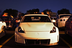 DSC03359 (Photography by BNC) Tags: auto car vw night honda photography long exposure nissan jeep flash mob toyota mazda audi acura meet mitsubishi jdm
