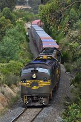 "Lush Hills and a failed engine (Jarle ""Speedemon08"" Dixon) Tags: engine x class haunted hills failed a79 9462 a x42"
