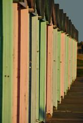 Southsea beach huts (Jainbow) Tags: sea beach front huts portsmouth southsea eastney jainbow