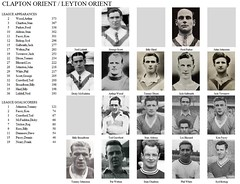 Clapton Orient / Leyton Orient (MisterMob) Tags: wood white records english history scott football aldous memories dixon collection record players orient blizzard bishop hind crawford parker league galbraith clapton welton johnston liddell leyton charlton appearances broadbent mcfadden townrow facey goalscorers mistermob