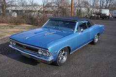 """1966 Chevelle SS 396 Convertible • <a style=""""font-size:0.8em;"""" href=""""http://www.flickr.com/photos/85572005@N00/8371620298/"""" target=""""_blank"""">View on Flickr</a>"""