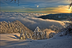 Les Rochers de Tablettes and the Alpes,sunset of 12 12 12 .No 1631. (Izakigur) Tags: winter mountains alps alpes liberty schweiz switzerland nc nikon europa europe flickr suisse suiza swiss feel ne jura alpen helvetia nikkor svizzera neuchatel neuchtel lepetitprince ch berna dieschweiz musictomyeyes  sussa neuenburg suizo chauxdefonds romandie suisseromande lelocle  lachauxdefonds myswitzerland lasuisse   cantondeneuchtel d700  nikond700 nikkor2470f28 nikkor2470 izakigur cantondeneuchatel nikon2470f28 nikon2470mmf28g cantonofneuchatel  suisia laventuresuisse izakigur