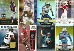 FOOTBALL SPORTS CARDS (supportcaring) Tags: 2 30 football king 2000 unique johnson 2006 jackson edge jersey gary t3 williamson kafka 2008 2009 platinum 42 56 memorabilia 87 108 199 topps fitzgerald 132 2010 chrisjohnson 2011 goldcolor vincentjackson gameused troywilliamson jonesdrew larryfitzgerald mauricejonesdrew shaunking mikekafka gujersey flairshowcase gsrmjd olandisgary