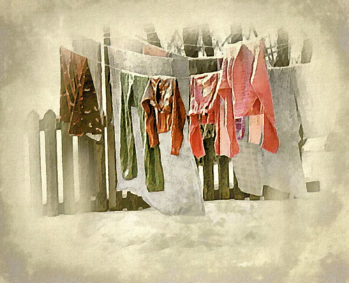 Laundry Day in January