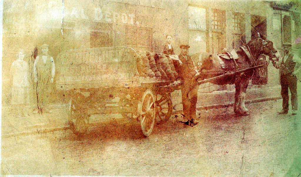 Carrachers Coal  1930s