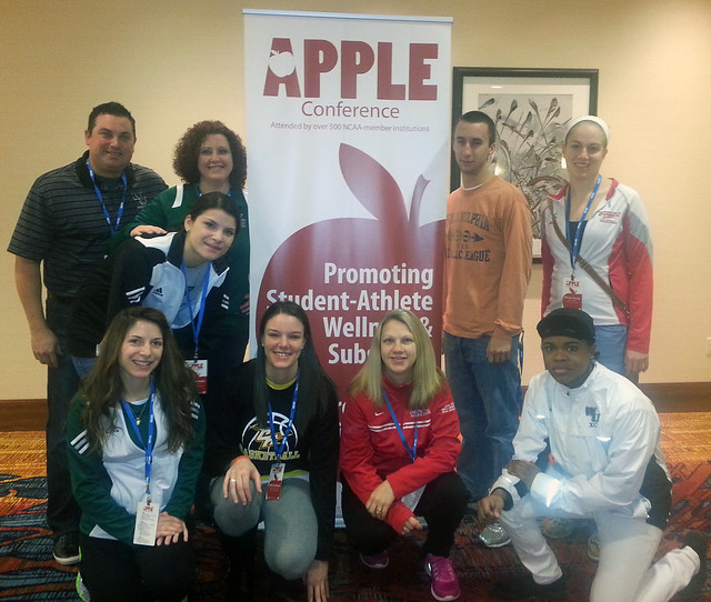Wilmington University Apple team teaming up with CACC member Chestnut Hill at the Apple Conference