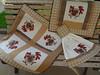 Jogo de cozinha - Galinhas (Paty Patch) Tags: patchwork galinhas jogodecozinha patchapplique