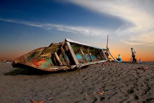 Wreck of Boat Fishermen