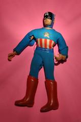 Vintage Cap ... Before! (skipthefrogman) Tags: vintage fun book comic super worlds 70s week heroes greatest marvel figures mego aciton wgsh skipthefrogman