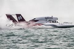 Spirit of Qatar (Mohmed Althani) Tags: travel red color beach canon eos photo speedboat national 7d powerboat turbine highspeed doha qatar greatshots topshots spiritofqatar addawhah h1unlimited