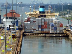 Atlantic Sea at last (saxonfenken) Tags: canal ship container locks panama 337 gamewinner gatumlocks pregamewinner 337boats