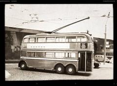 Isleworth Trolleybus Depot (kingsway john) Tags: kingsway models card kits trolleybus depot isleworth london transport diorama scale 176 londontransportmodel model bus oo gauge miniature