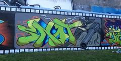 Justice in Llandudno with the lads. (Dangeri) Tags: graffiti justice llandudno snot cask hek htb pese zener afrosamurai hostiletakeback