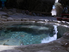 Crystal Pool Delight (totalescape.com) Tags: california camping nature water pool rock nude desert crystal free soak pools hottub mineral nudity healing hotsprings deathvalleynationalpark